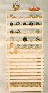 Vorratsregal Holz kombiregal